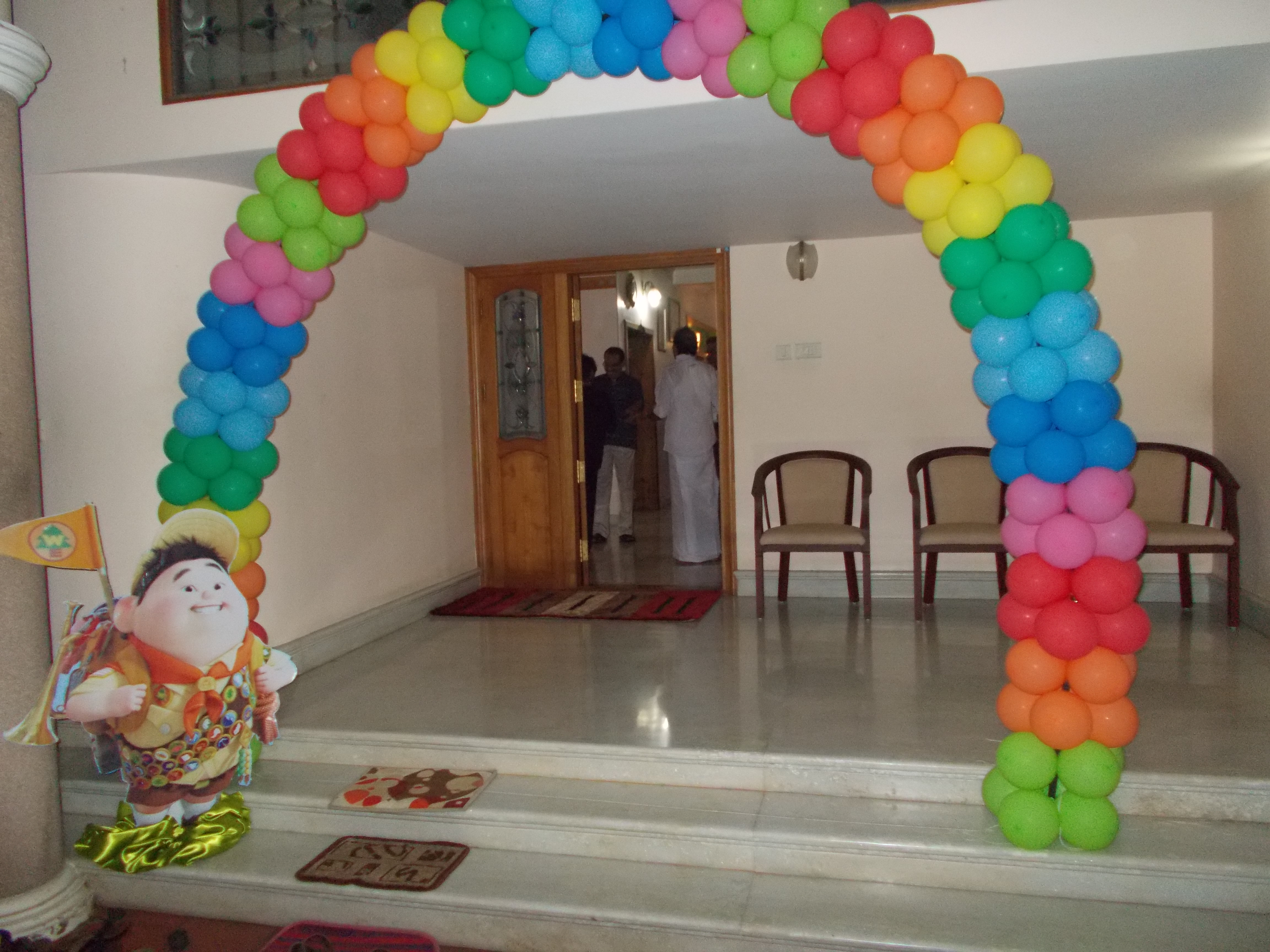 Partytime With Aladin Up Movie Inspired Theme Decoration 26