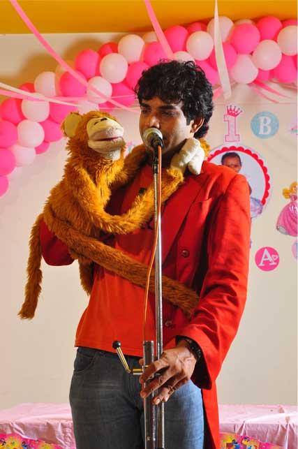 birthday planner Cochin ventriloquist