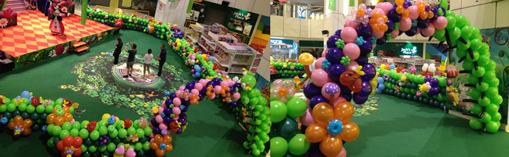 Ballon Decoration in Cochin - Partytime