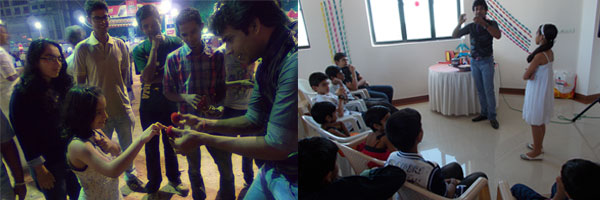 Magicians in Cochin, kerala for birthday parties