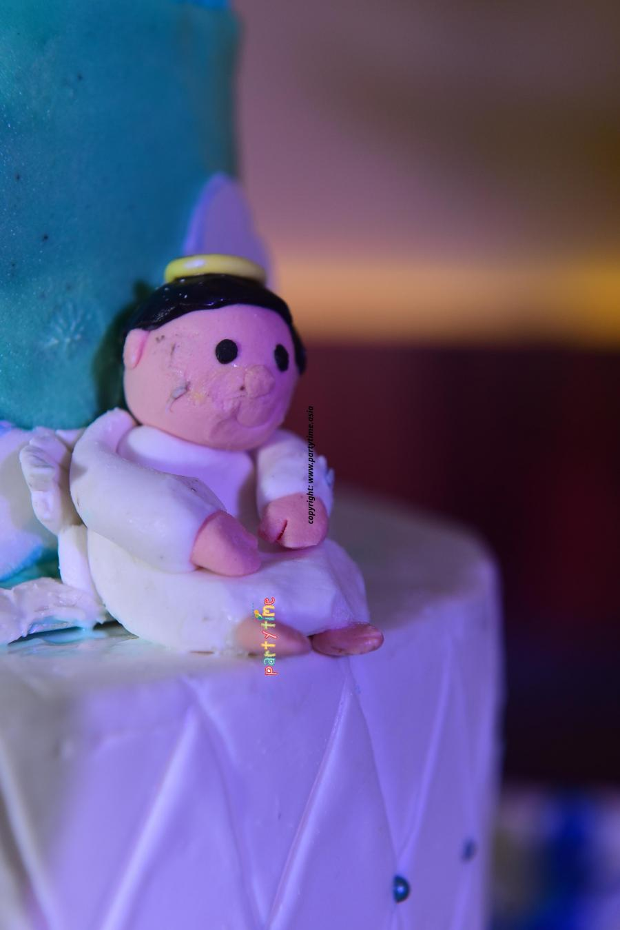 Baptism Theme Cake and Decoration Kottayam  Kerala - Partytime With Aladin
