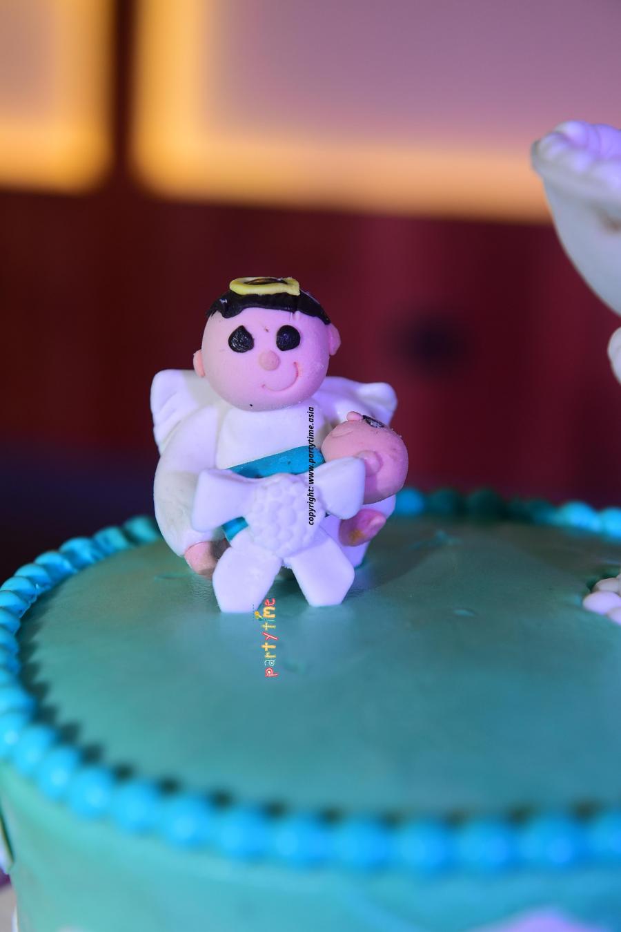 Baptism Theme Cake and Decoration Kochi, Kerala - Partytime With Aladin
