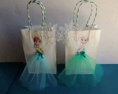 Frozen Inspired Birthday Returm Gift
