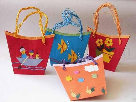 Boat Theme birthday return gift bag - Partytime With Aladin Kochi Kerala