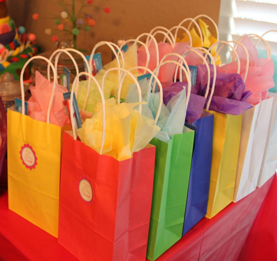 birthday return gift bag - Partytime With Aladin Kochi Kerala